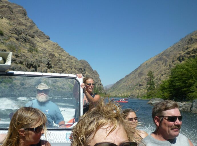 Jet Boats, Whitebird Summit Lodge